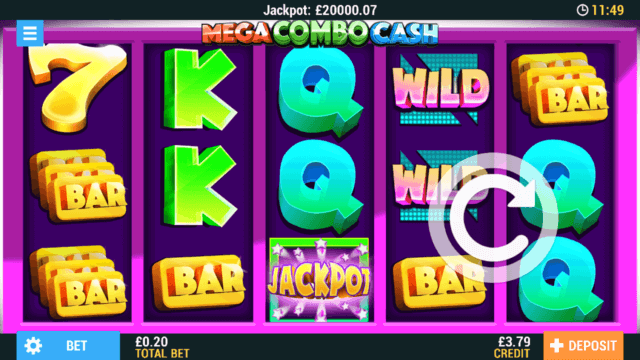 Mega Combo Cash mobile slots at Casino 2020