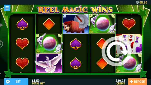 Reel Magic Wins mobile slots at Casino 2020