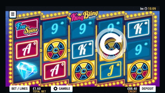 King Bling mobile slots at Casino 2020