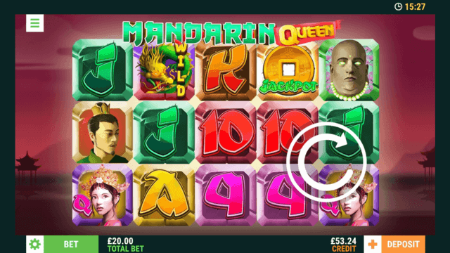Mandarin Queen mobile slots at Casino 2020