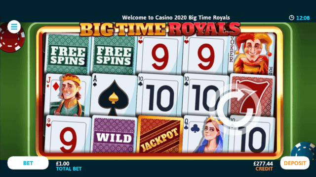Big Time Royals Online Slots at Casino 2020 - in game image